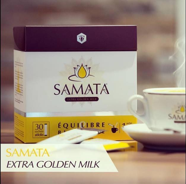 Samata extra golden milk massage gezondheid therapie sofie brakel