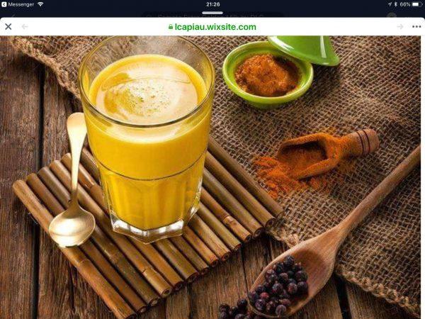 Samata extra golden milk massage gezondheid therapie sofie brakel