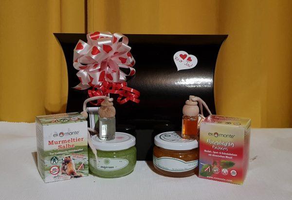 Luchtverfrissers exmonte geschenksetje massage gezondheid therapie sofie brakel