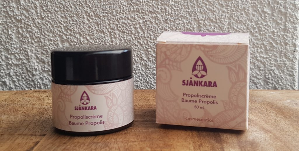 Sjankara Propoliscrème massage therapie gezondheid wellness sofie brakel
