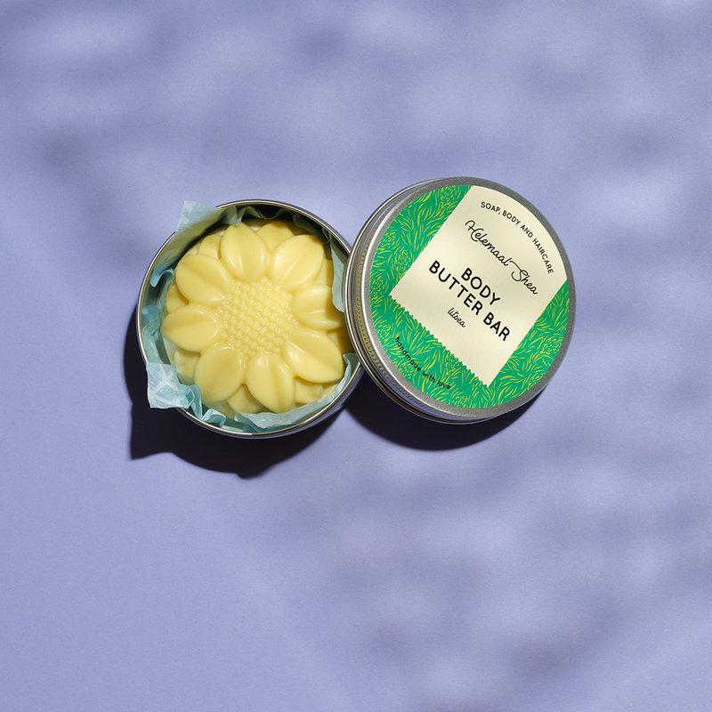 HelemaalShea Body Butter Bar Litsea massage therapie gezondheid wellness sofie brakel