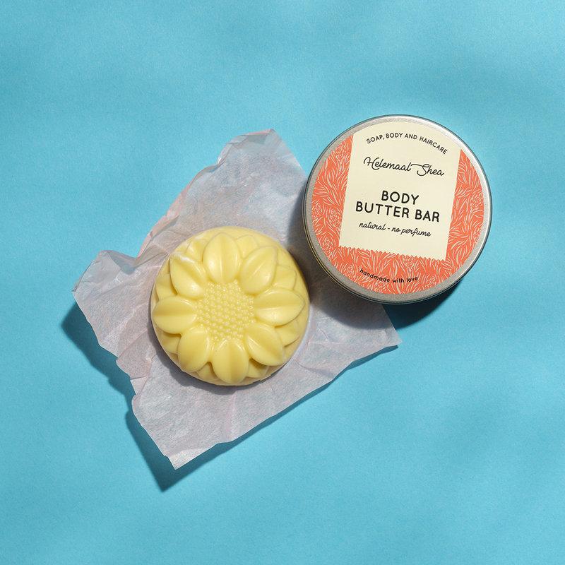HelemaalShea Body Butter Bar Natural No Perfume massage therapie gezondheid wellness sofie brakel