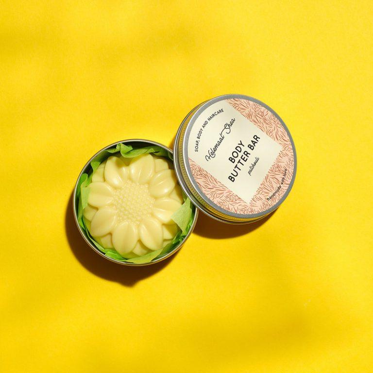 HelemaalShea Body Butter Bar Patchouli massage therapie gezondheid wellness sofie brakel