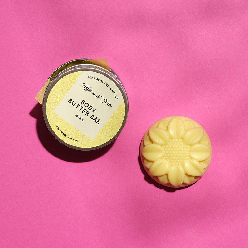 HelemaalShea Body Butter Bar Vanilla massage therapie gezondheid wellness sofie brakel