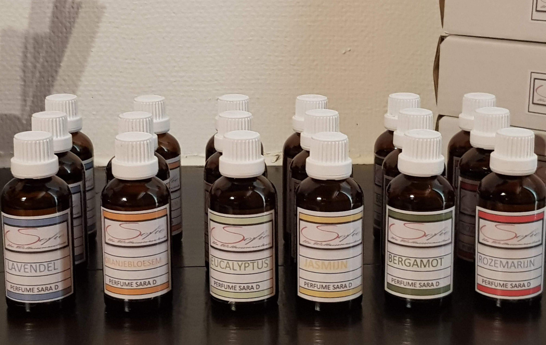 Etherische olie verdampen 50ml massage wellness sofie brakel